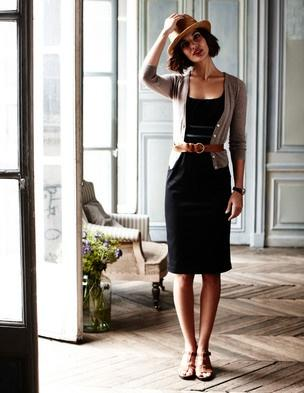 black-dress-cardi-belt