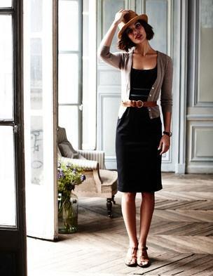 black-dress-cardi-belt